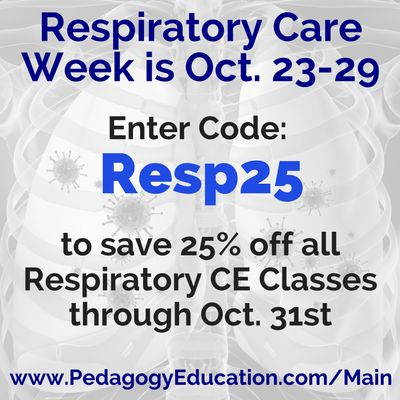 32 best pedagogy coupon codes images on pinterest continuing respiratory care week october special httppedagogyeducation coupon codescatalogoctoberrespiratory fandeluxe Image collections