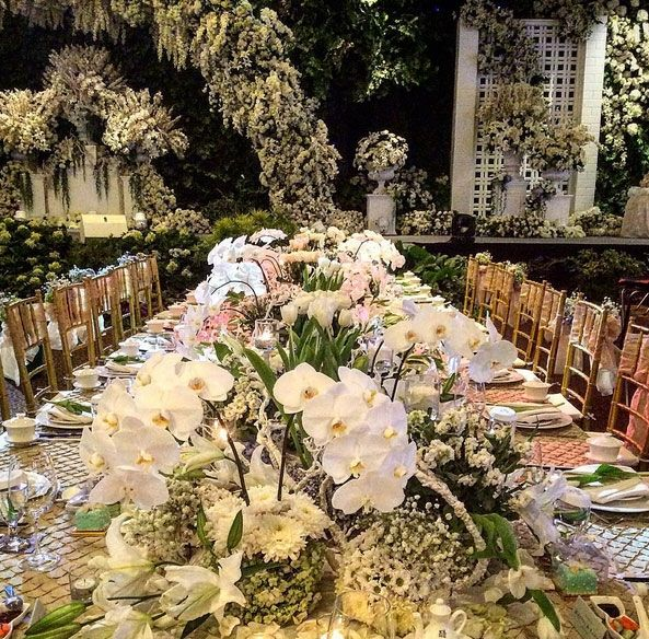 46 best wedding reception table setting ideas images on pinterest pf decoration junglespirit Choice Image