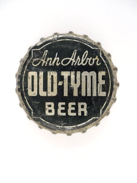 Old Tyme Beer, Ann Arbor Brewing Company Ann Arbor, MI, 1937
