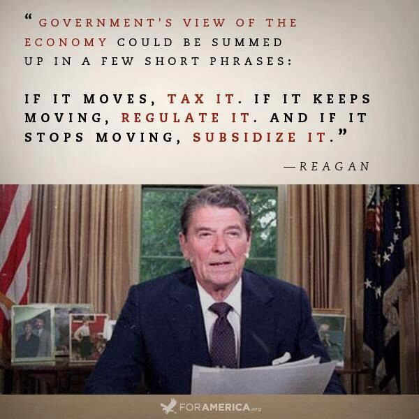 Conservative ideas of ronald reagan worked to his advantage
