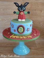 Cbeebies Bing children's birthday cake