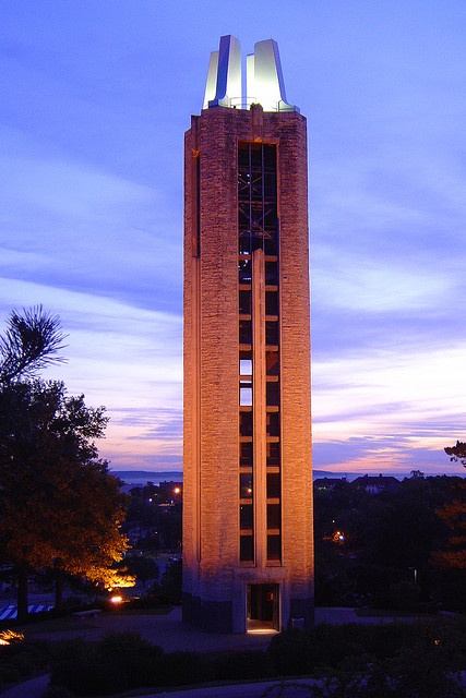 The Campanile Tower on the campus of Kansas University | Favorite Places & Spaces | Pinterest ...