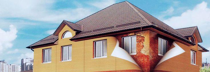 Желаете купить виниловый или металлический сайдинг с установкой? Нужен монтаж навесного вентилируемого фасада или фасадных панелей? Отделка фасадов панелями и обшивка домов сайдингом любого типа - виниловым или металлическим, а также монтаж вентилируемых и мокрых фасадов.