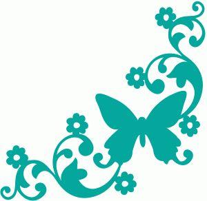 View Design #59512: butterfly garden corner