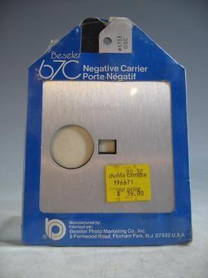 5b1a9113e8cb Beseler 6733 Disc Film Negative Carrier For Beseler 67C Enlarger In Package   Q
