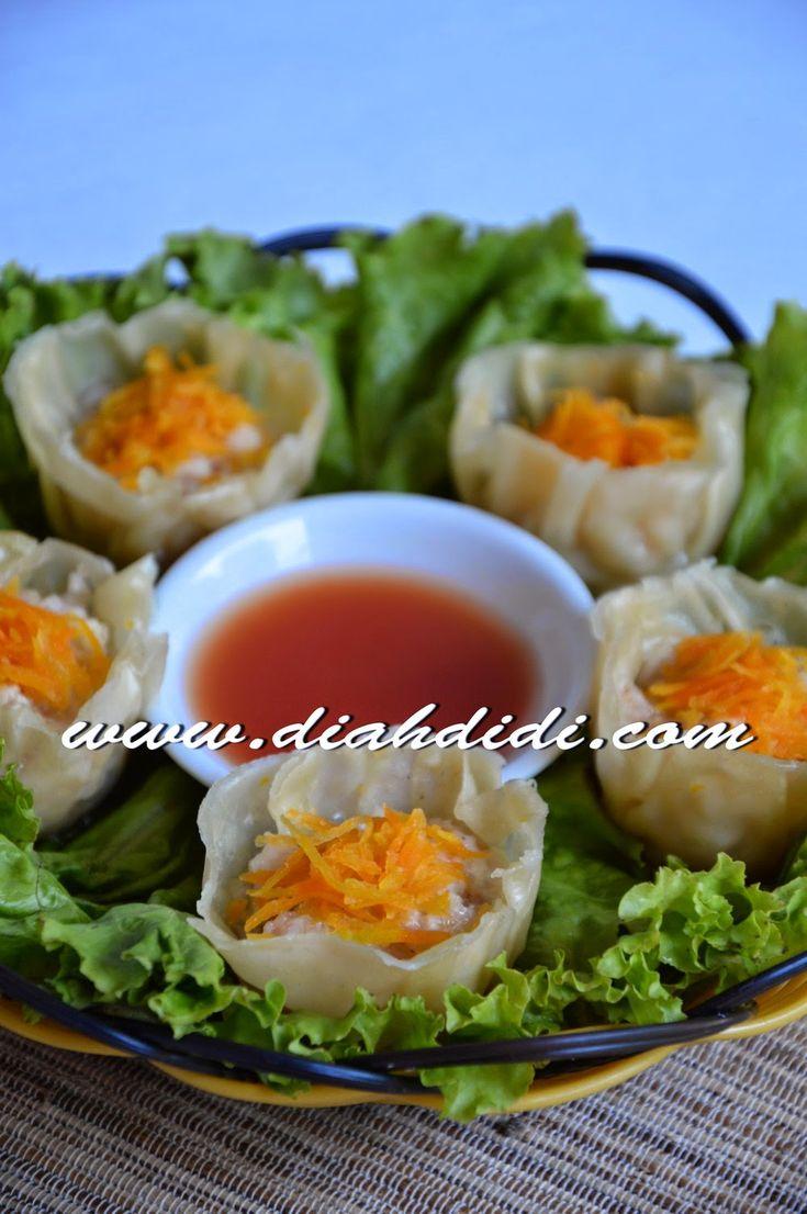Diah Didi's Kitchen: Siomay Udang & Ayam Ala Resto