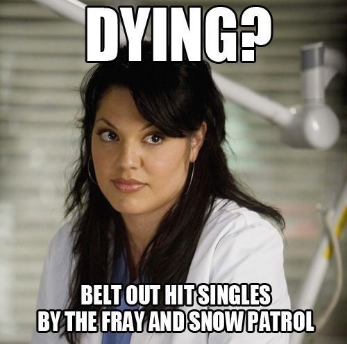 """The musical trainwreck of an episode. 