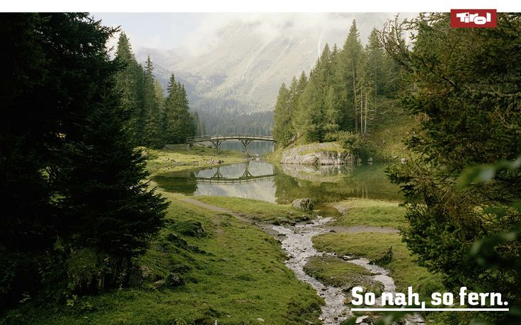 Obernberger lake in Tirol, Austria