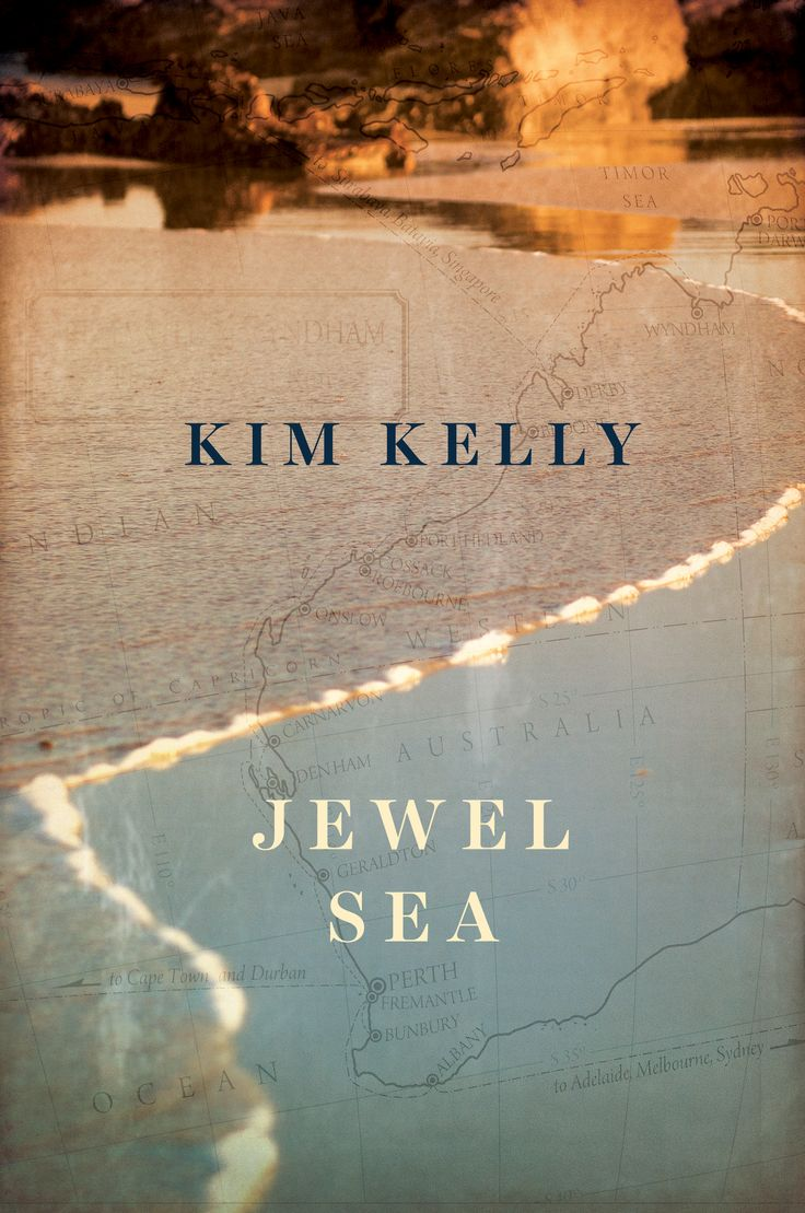 Cover reveal for Kim Kelly's gorgeous new novel, Jewel Sea http://www.theauthorpeople.com/jewel-sea