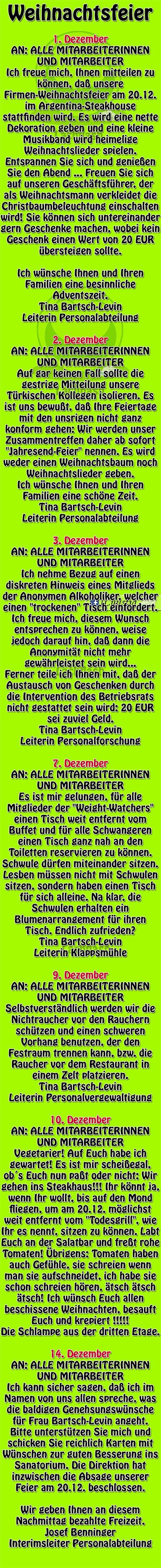 #weihnachtsfeier