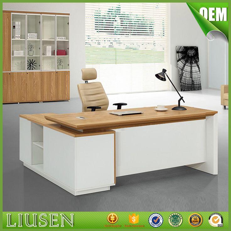 Source Simple style melamine high end office furniture executive desk set on m.alibaba.com