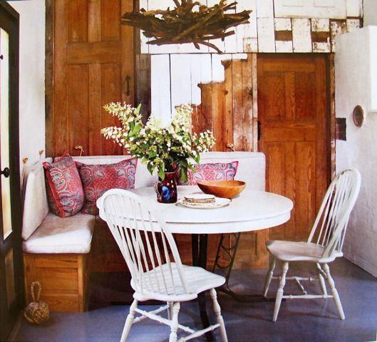 rustic style wood decor