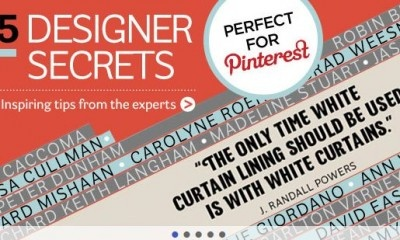 Tijdschrift maakt koppeling met Pinterest