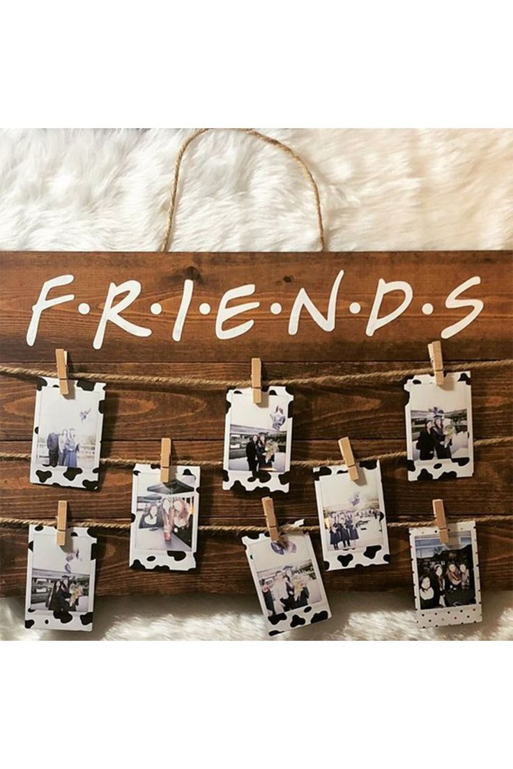 Fyi You Can Buy Monica S Yellow Peephole Frame From Friends On Amazon In 2020 Birthday Gifts For Best Friend Handmade Gifts For Friends Cute Birthday Gift