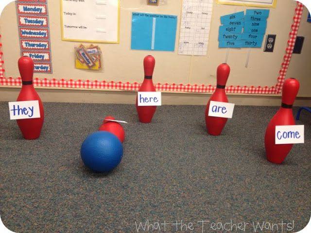 Sight Word Bowling!!!