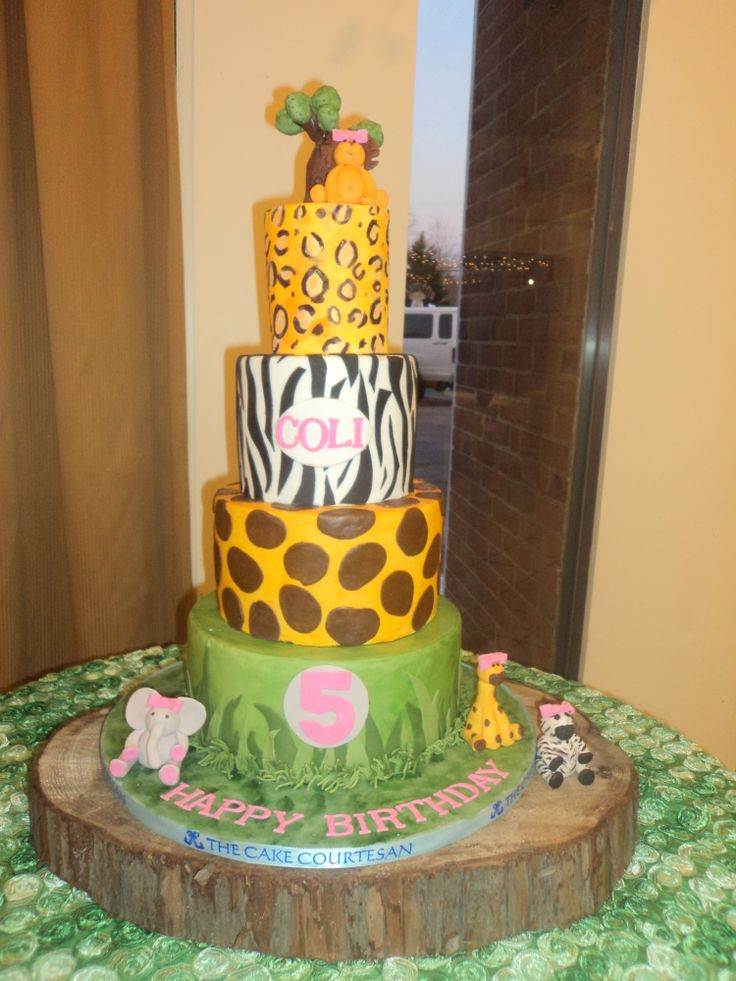 70 best Cakes images on Pinterest Animal print cakes Animal