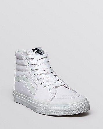 Vans Unisex Lace Up High Top Sneakers - SK8 | Bloomingdale's