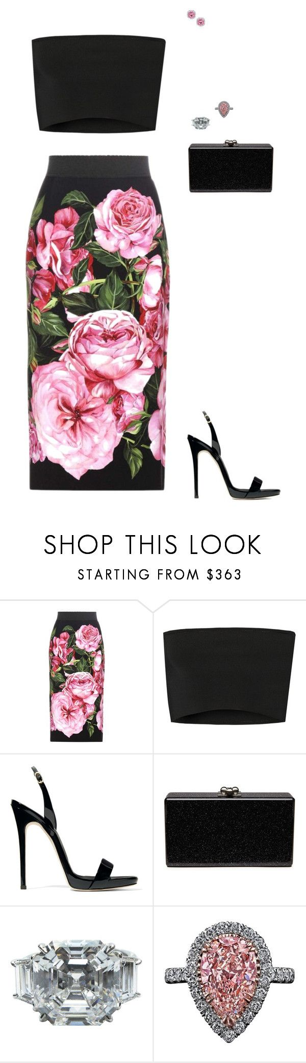 """""""Untitled #1594"""" by jessie-hatton3 ❤ liked on Polyvore featuring Dolce&Gabbana, Calvin Klein Collection, Giuseppe Zanotti, Edie Parker, J. Birnbach and Kobelli"""