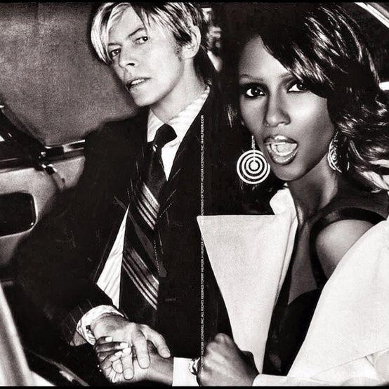 David Bowie & Iman