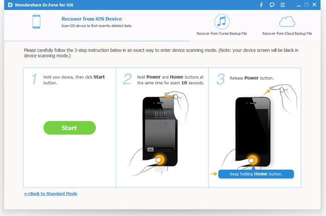 How to Recover Deleted Photos from iPhone - iPhone Photo Recovery