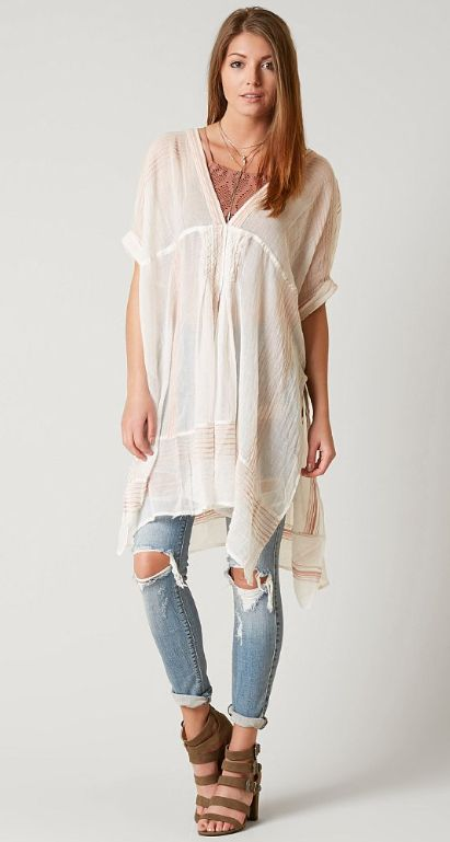 Free People The Great Escape Tunic Top - Women's Clothing | Buckle