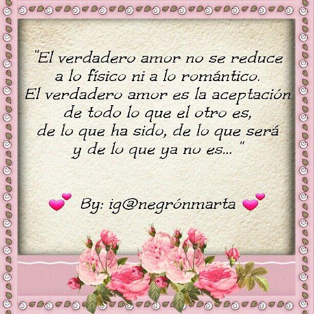 """""""El verdadero amor"""" (By me: ig@negrónmarta)"""