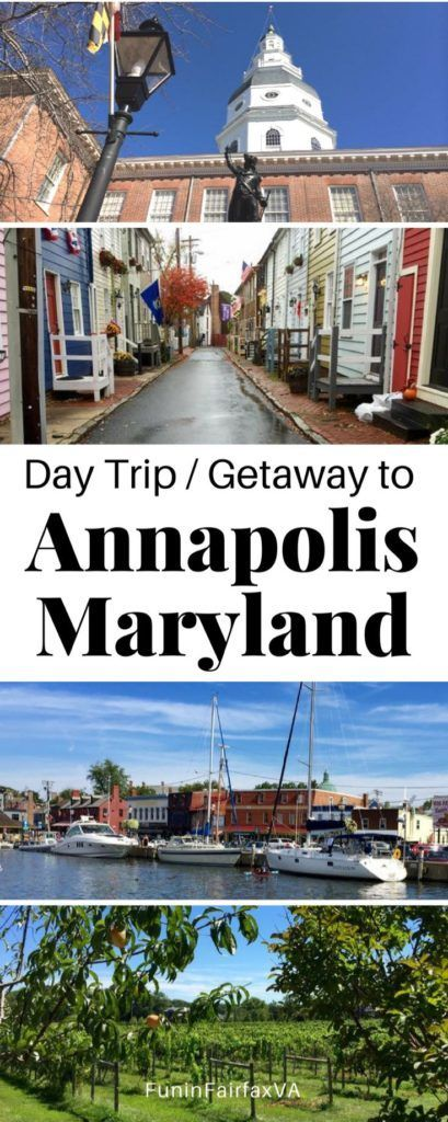 Annapolis Maryland US Travel. Day trip or weekend getaway with things to do, restaurants, and places to visit in Annapolis Maryland. #travel #Annapolis #Maryland #getaway #washingtondc