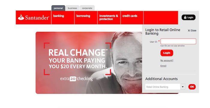 Fix Santander Bank Login Problems Santander Bank Business Person Santander