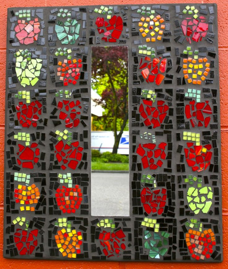 Mirror by Sunnycrest Elementary School 2012 #auctionprojects #seattlemosaicarts #mosaics