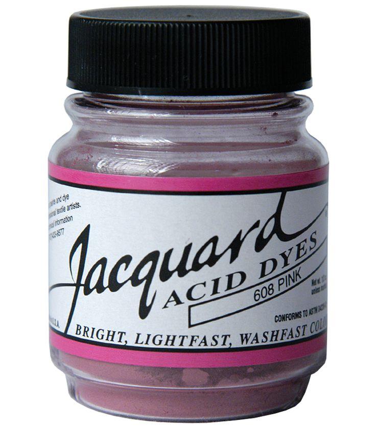 Jacquard Acid Dyes 1/2 Ounce,