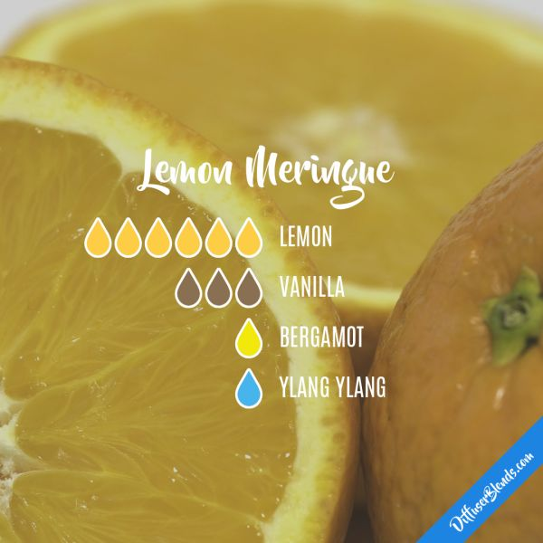 Lemon Meringue - Essential Oil Diffuser Blend