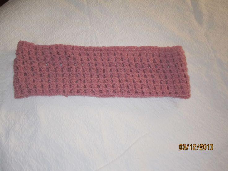 Cuello de crochet.