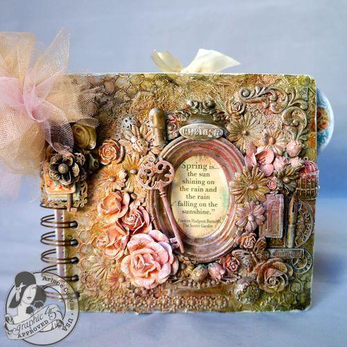 Breathtaking Secret Garden mini album by Arlene Butterflykisses! Wow!