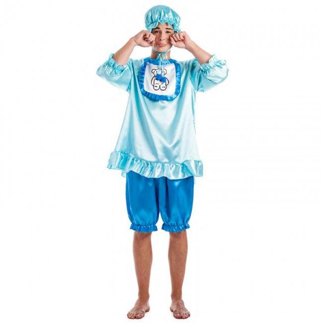 Disfraz de Bebé Llorón Azul para hombre #disfraces #carnaval #novedades2017
