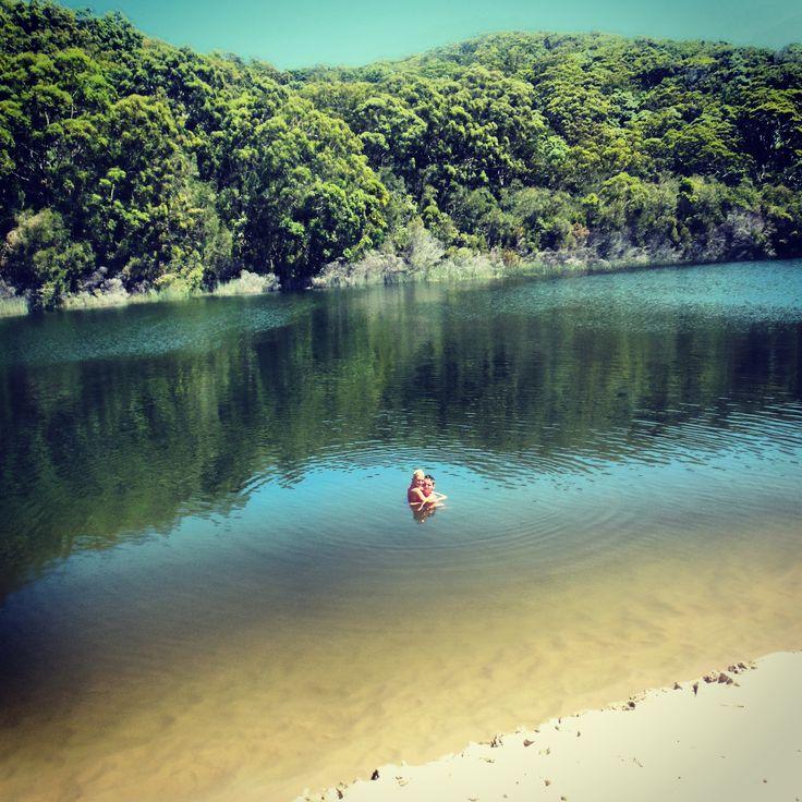 Lake Wabby -Fraser Island, Australia