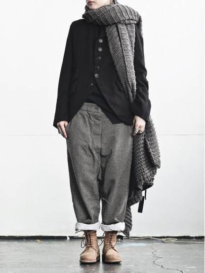 WOMEN :: CLOTH :: TROUSERS :: MARIA TURRI Plaid Pants