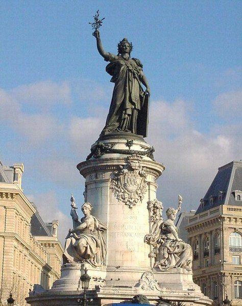 Place de la République, Paris III