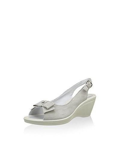 ENVAL SOFT Sandalo Zeppa  [Blu]