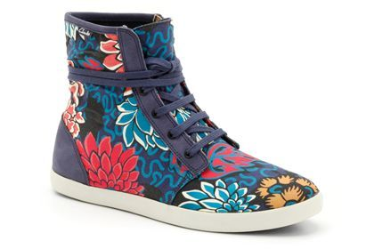 Liberty print gone sporty. Love it!