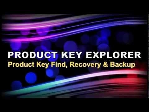 Product Key Explorer  http://www.nsauditor.com/product_key_finder.html  Product Key Explorer is key finder program and recovers product key for Windows 8, Windows 7, Vista, Windows XP, Microsoft Office 2013, Office 2010, 2007, 2003, Exchange Server, SQL Server, Adobe Acrobat, Nero, Adobe CS3, CS4, CS5, CS6 and +4800 other software products installed on your local or remote network computers.