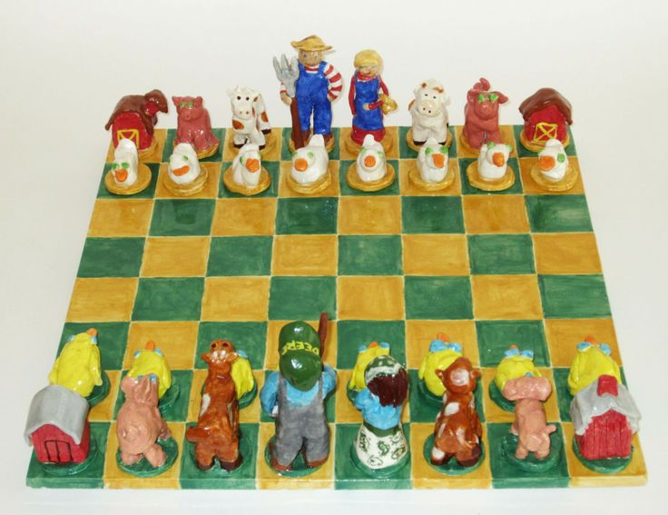 what i imagine a legendary level chess set to look like