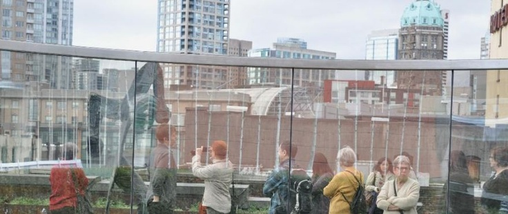 Contemporary Art atop of Bob Rennie's revitalized Wing Sang Building, 2012.