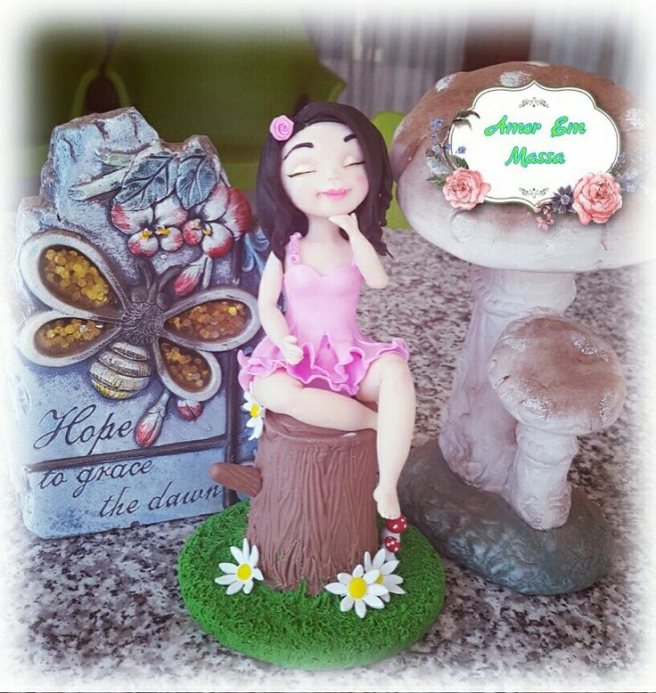 Cute farie,inspired by Alessandra caldeira,made by me 🍃