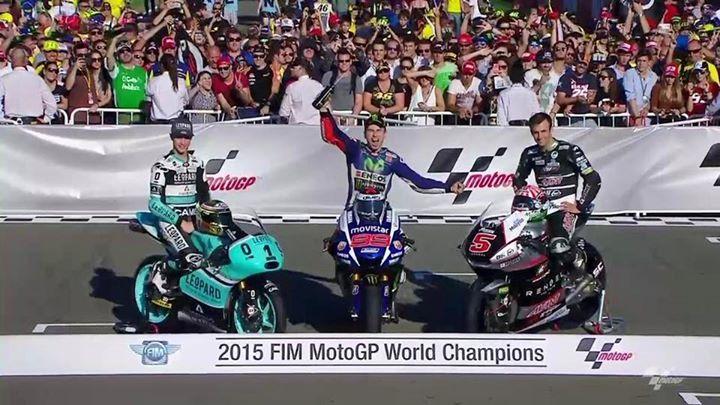 2015 FIM MotoGP World Champions