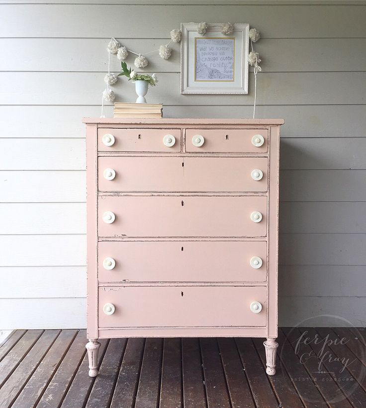 Beautiful Dresser Painted By Ferpie And Fray