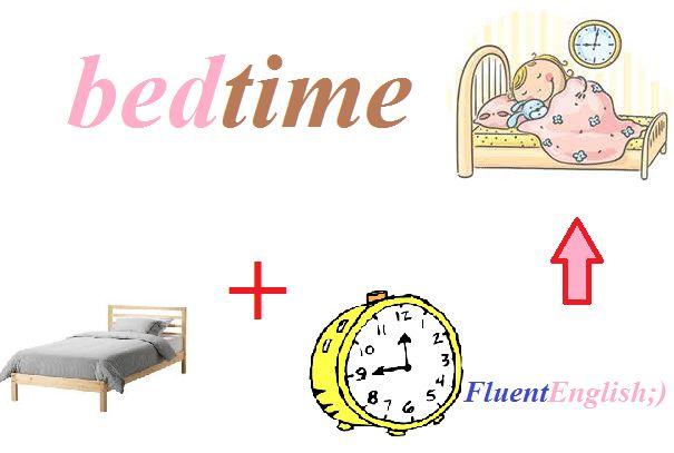 bed + time = bedtime! (время ложиться спать)  #английский #английскийвесело #английскийскайп #английскийразговорный #английскийслова #английскийонлайн #английскийчерезскайп #английскийрепетиторы #учитьанглийский #fluentenglish