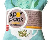 Soothe those aches and pains away with one of our organic wheat filled heat packs.