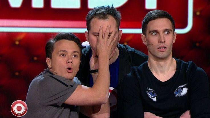 Трио из Comedy Club выносит мозг телеведущей (эксклюзивная попытка интер...