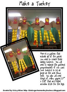 A Free Goofy Turkey Pattern-Great For Any Level - Re-pinned by @PediaStaff – Please Visit http://ht.ly/63sNt for all our pediatric therapy pins