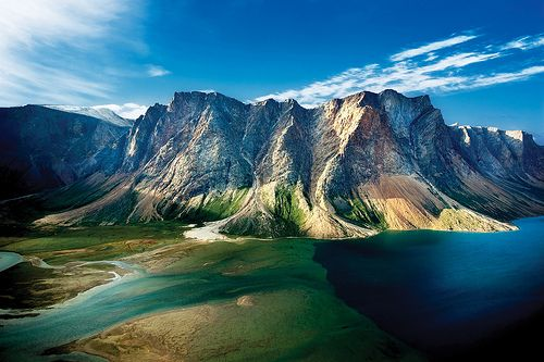 "Torngat Mountains in the far north of the ""Big Land"", Canada's newest National Park,  Newfoundland & Labrador"